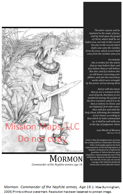 Mormon: Commander of the Nephite armies - J. Mae Burningham