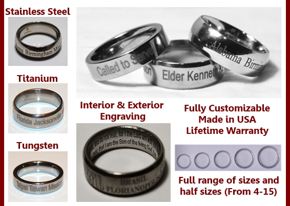 Examples of mission rings